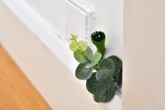 Auch aus dem Wänden der Städtischen Galerie Delmenhorst wachsen undefinierbare Pflanzen. Foto: Konczak