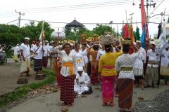 Tägliche Opfergaben sind sind für die Balinesen Pflicht.