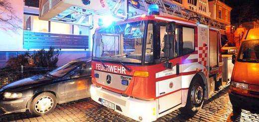 Feuerwehreinsatz in der Nacht / Symbolfoto