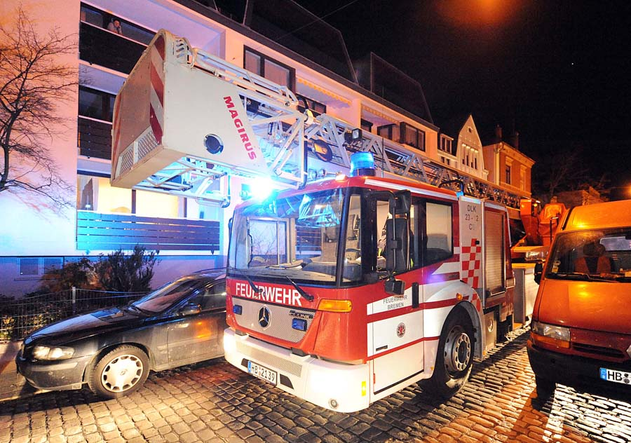 Feuer Bremen wohnungsbrand in huchting kostet menschenleben