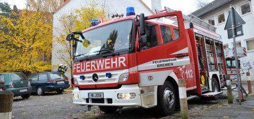 Donnerstagmittag brannte es in einer Erdgeschosswohnung in Gröpelingen. Foto: WR