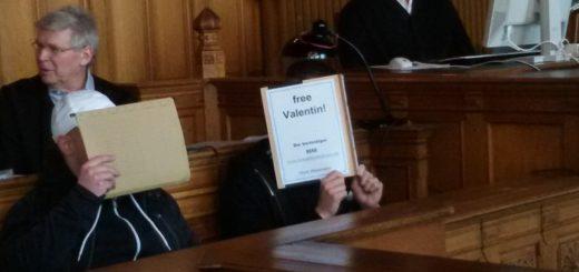 Ultra Valentin S. vor Gericht, Foto: Bohlmann