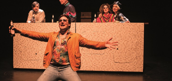 "Das Schnürschuh-Theater Bremen inszeniert den Roman ""Herr Lehmann"" Fotos: Narbut"