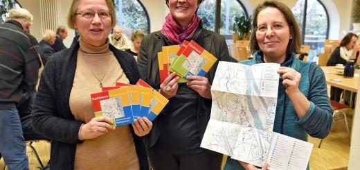 Der Stadtteilplan Woltmershausen gibt Insidertipps für den Alltag. Foto: Schlie
