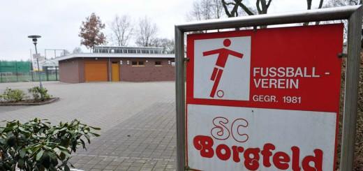 SC Borgfeld kann zurück in die Halle. Foto: WR