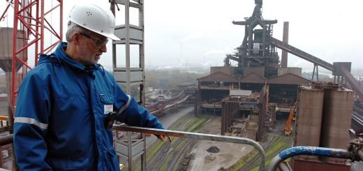 In den Stahlwerken an der Weser Foto: Schlie