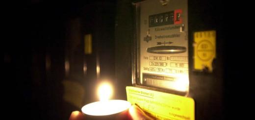 Stromsperre: Wenn der Zähler stehen bleibt. Foto: Schlie