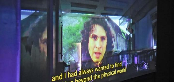 Die Kunsthalle Bremen stellt Videokunst aus.
