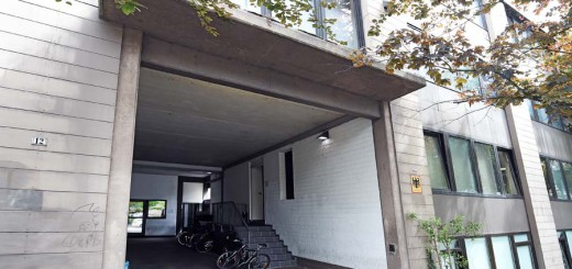 Die Zentrale Aufnahmestelle für jugendliche Flüchtlinge in der Steinsetzer Straße. Foto: WR