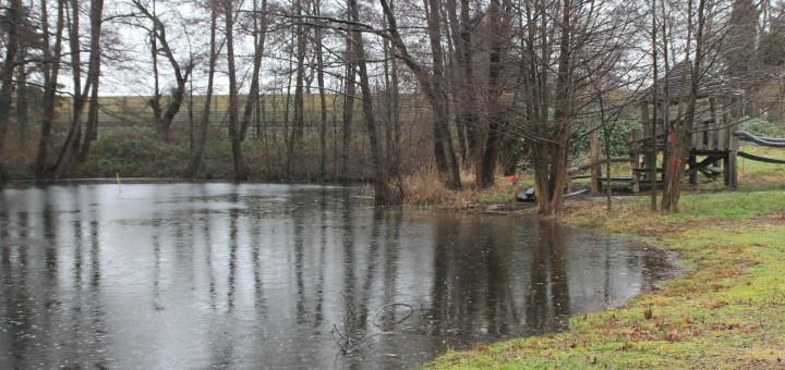 Das Grambker Seebad könnte ab Mai wieder eröffnen. Foto: Füller