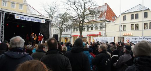 Demo gegen NPD in Verden