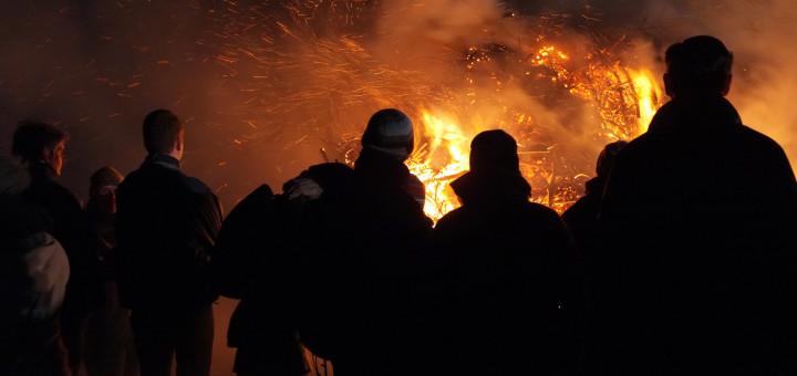 Im Delmenhorster Stadtgebiet wurden 16 Osterfeuer angemeldet. Foto: Konczak