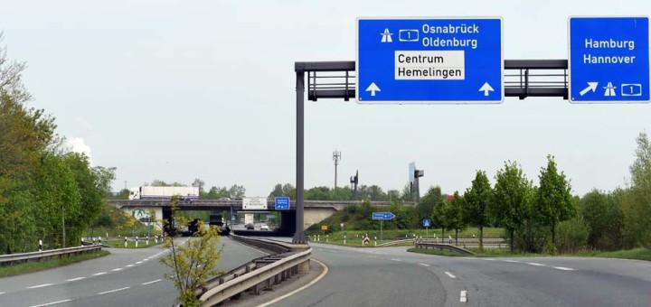 """Autobahnzubringer in Bremen: Wichtige Projekte stehen jetzt im """"vordringlichen Bedarf"""". Foto: WR"""