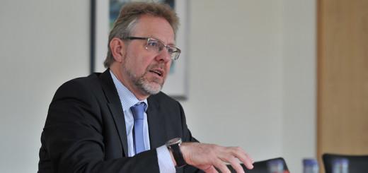 Hans-Ulrich Salmen, Geschäftsführer der Stadtwerkegruppe Delmenhorst