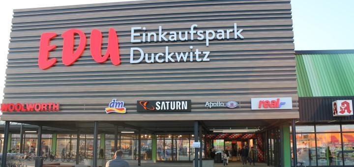 Der Einkaufspark Duckwitz eröffnet nach 14-monatigem Umbau neu.