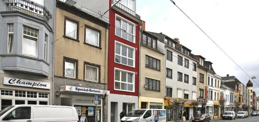 Im roten Haus ist das Bordell in Buntentor in der Neustadt geplant. Foto: Barth