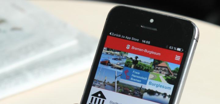 Burglesum ist der erste Bremer Stadtteil, der diese Art von App anbietet.