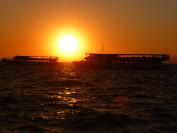Traumhaft - der Sonnenuntergang vor der Bucht von Izmir. Foto: Kaloglou