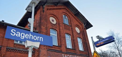Der Bahnhof Sagehorn soll nach Westen verlegt werden