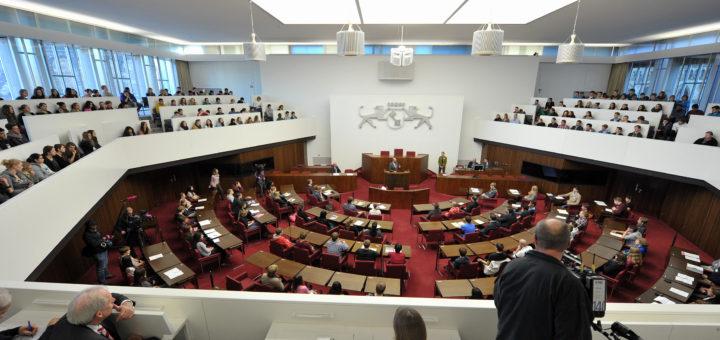 In der Bremer Bürgerschaft diskutieren die Abgeordneten. Foto: WR