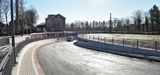 Montag wird der erste von drei Tunneln in Bremen-Oberneuland für den Verkehr frei gegeben.