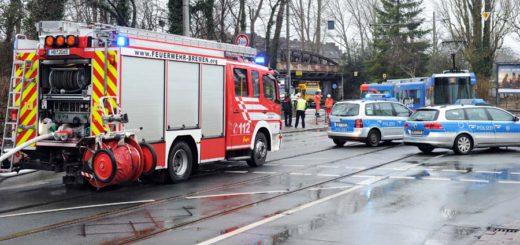 Die Zahl der Verkehrsunfälle ist in Bremen angestiegen. Foto: WR