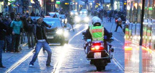Die Polizei will jetzt stärkere Präsenz im Viertel zeigen. Foto: WR