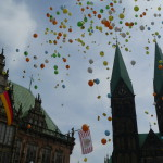 Ballonflug Marktplatz - Kein freies Foto