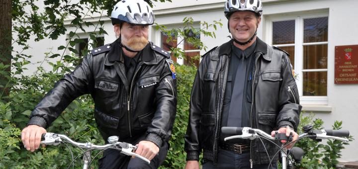 Helge Eichhorst und Holger Eichhhorn in guten gemeinsamen Zeiten als Oberneulander KOPs. Foto: pv