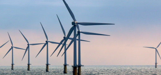 Offshore Windpark Symbolfoto