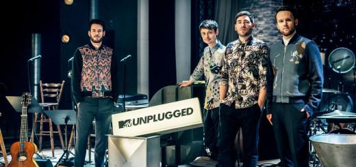 """Die Unplugged-Tour ist eine """"komplexe Sache"""", sagt Sänger Johannes Strate (links).Foto:pv"""