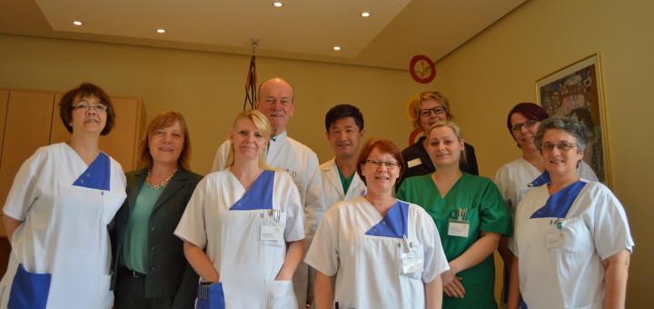 Das Team der Frauenheilkunde und Geburtshilfe.