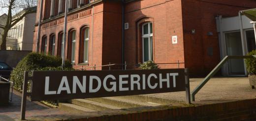 Am Landgericht in Verden wird ein Fall von schwerem sexuellen Missbrauch verhandelt.