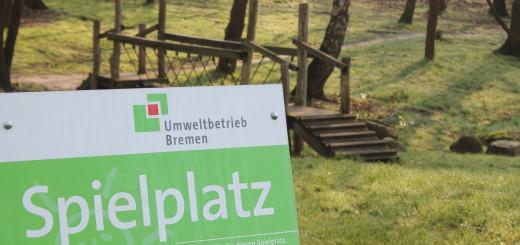In Burglesum sind viele Spielplätze von Vandalismus betroffen. Foto: Füller