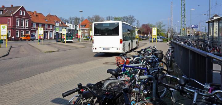 Das Umfeld des Bahnhof Verden soll neu gestaltet werden