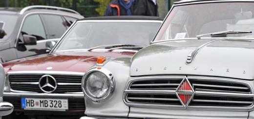 Mercedes und Borgward Foto: WR