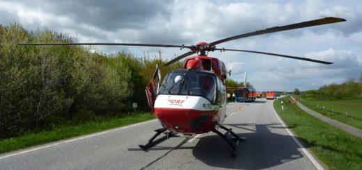 Bremer Rettungshubschrauber im Einsatz. Foto: DRF