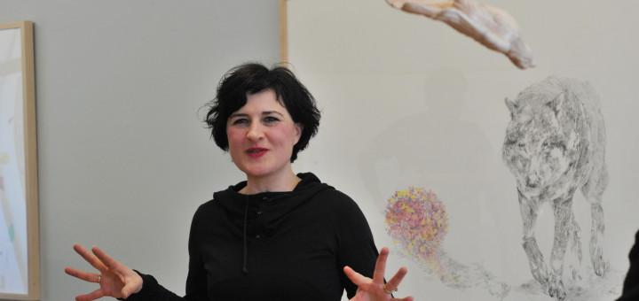 Gabriela Oberkofler zeigt aktuelle Zeichnungen und Installationen in der Städtischen Galerie Delmenhorst. Foto: Konczak