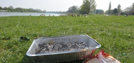 Am Werdersee sind nach einem Beiratsbeschluss Partys nach dem Freiluftpartygesetz nicht erlaubt. Foto: WR