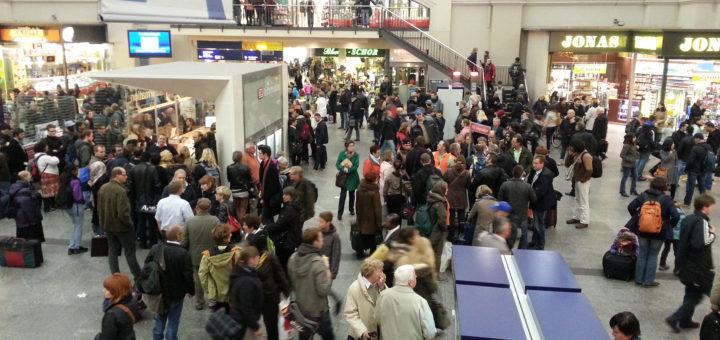 Die Deutsche Bahn will im Bremer Hauptbahnhof neue Videotechnik installieren. Foto: WR