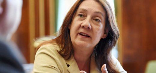 Finanzsenatorin Karoline Linnert Foto: Schlie
