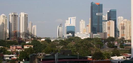 Gigantisch: Die Skyline von Panama-City.Foto: Kaloglou