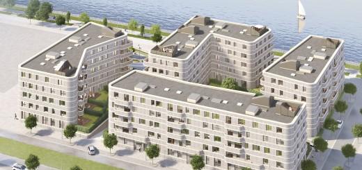 """Bauprojekt """"waveline"""" an der Weser"""