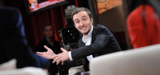 """Jan Böhmermann als Gast in der Talkshow """"3 nach 9""""Foto: Radio Bremen / Frank Pusch"""