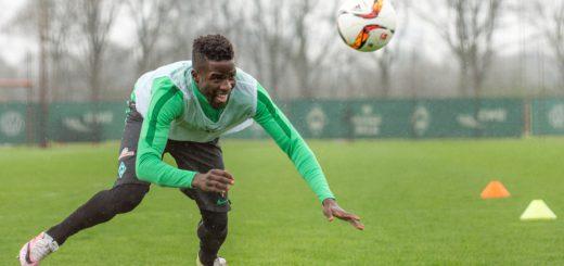Werder hat Papy Djilobodji bis zum Saisonende vom FC Chelsea ausgeliehen. Foto: Nordphoto