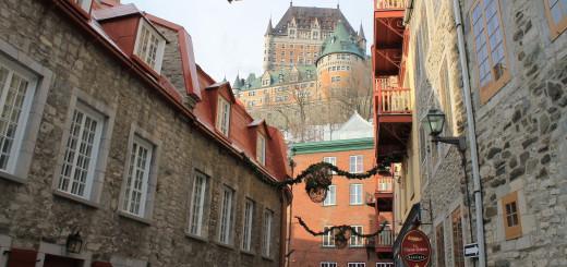 Thront seit 123 Jahren über der Stadt Québec: das Château Frontenac. Foto: Waalkes