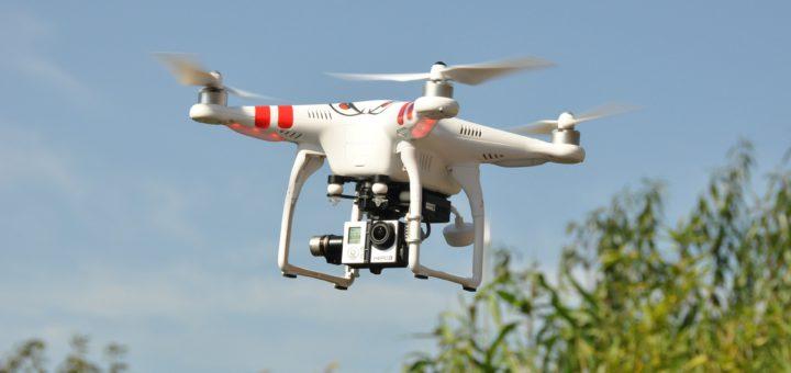 Eine Drohne im Flug Foto: mail111 / pixabay