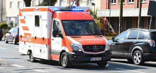 Rettungswagen im Einsatz / Symbolfoto