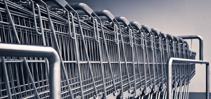 Auf den Straßen im Zentrum von Vegesack häufig anzutreffen: Einkaufswagen: (Symbolbild). Foto: Pixabay / Michael Gaida