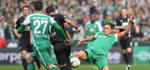 Kapitän Fritz konnte die Niederlage gegen Augsburg nicht verhindern. Foto: nph
